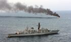 HMS Montrose 14/1/10