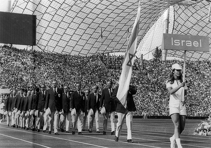israel and munich olympic games The maccabiah games are quadrennial jewish olympics, held in israel the year following the olympic games  at the 1972 munich olympic.