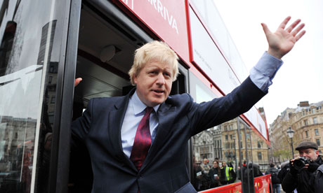Boris Johnson london mayor