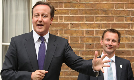 David Cameron and Jeremy Hunt