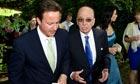 David Cameron and Rupert Murdoch, 2009
