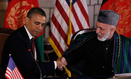 Barack Obama marks anniversary of Bin Laden's death with trip to Kabul