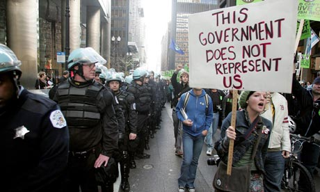 Chicago is armed to the gills for an upcoming NATO summit 2012