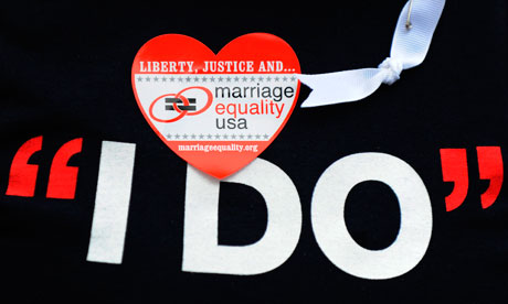 Same sex marriage. 'I defend the right of lesbians and gays to divorce, ...