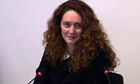 Rebekah Brooks at Leveson inquiry