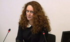 Rebekah Brooks at the Leveson inquiry