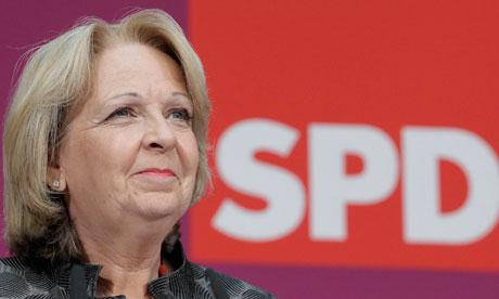 Hannelore Kraft, state premier of North-Rhine Westphalia - Hannelore-Kraft-state-pre-008