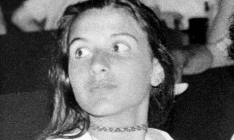 Italian girl Emanuela Orlandi is believed to have been kidnapped in Rome in 1983 when she was 15