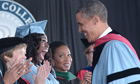 Barack Obama at Barnard