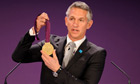 Gary Lineker, seen at the Olympic football draw, will be the BBC's lead evening TV presenter