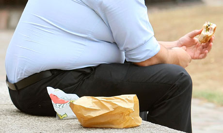 Fat People Eating Fast Food