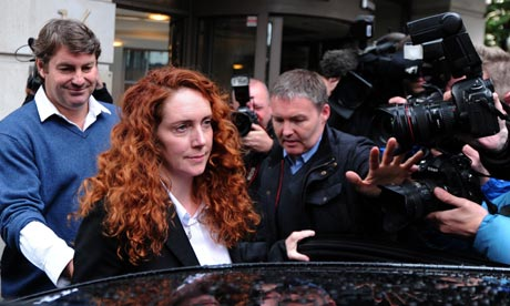 Rebekah Brooks and her husband Charlie