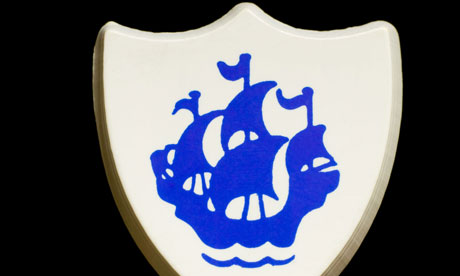 Sacred … the Blue Peter badge.