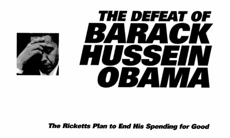 Cover of Super Pac strategy document