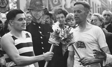 1948 London Summer Olympic Games Torch Relay