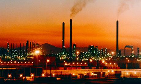 Saudi Arabian oil refinery
