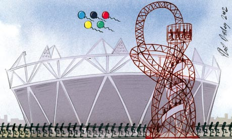 Olympics illo by Phil Disley