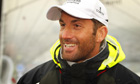Ben Ainslie will be the first of the 8,000 torchbearers to carry the Olympic flame across the UK