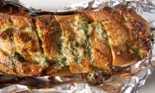 Nigel Slater recipe garlic bread