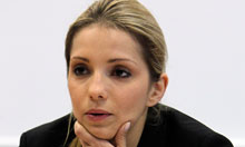 Yulia Tymoshenko badly beaten in prison, daughter claims