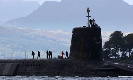 Vanguard-class nuclear submarine