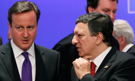 Jose Manuel Barroso, David Cameron
