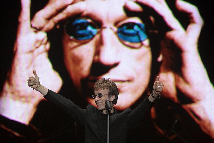 Robin Gibb-life in pics: Robin Gibb-life in pics