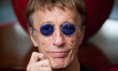 Robin Gibb,  a life in pictures
