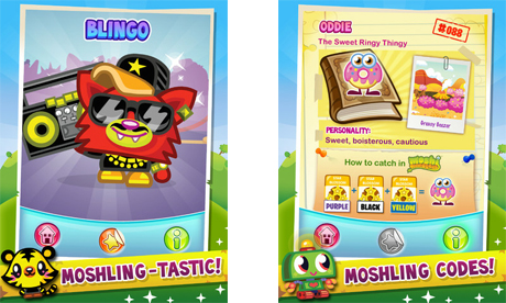 Moshi Monsters gets an official Moshlings app for iPhone and iPad