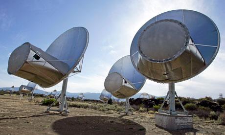 Allen Telescope Array in Hat Creek, California