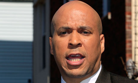 Cory Booker: making capital out of Bain | Ana Marie Cox | Comment ...