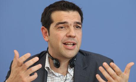 Alexis Tsipras Speaks In Berlin
