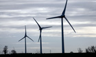 Burton Wold wind farm in Northamptonshire