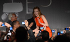 Nicole Kidman attends the press conference of