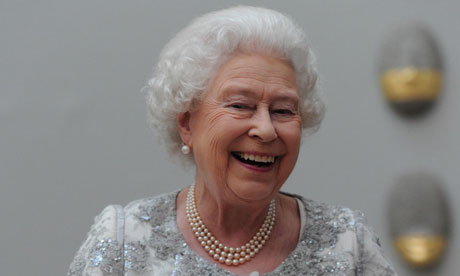 Queen Elizabeth II attends Royal Academy of Arts jubilee celebration in London 23/5/12