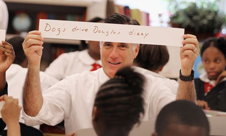Romney campaigns on education in Pennsylvania - US politics live