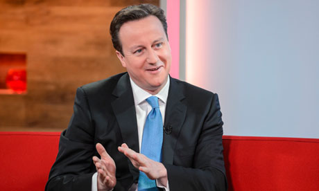 David Cameron on ITV's Daybreak