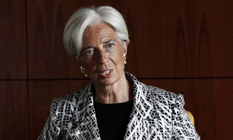 It's payback time: don't expect sympathy – Lagarde to Greeks  Take responsibility and stop trying to avoid taxes, International Monetary Fund chief tells Athens