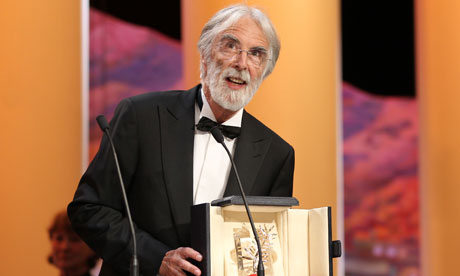 Cannes 2012 awards: Michael Haneke receives the Palme d'Or