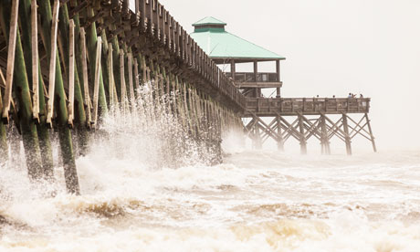 TROPICAL STORM BERYL HITS NORTH-EAST FLORIDA
