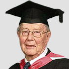 I graduated aged 90 – you're never too old to learn