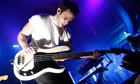 French band M83 in concert