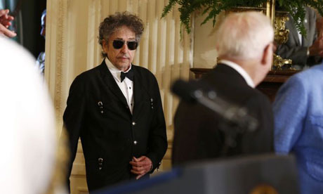 Bob Dylan at the White House