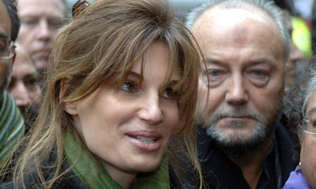 Jemima Khan and George Galloway