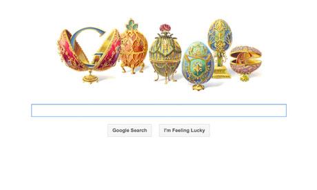 Faberge Google doodle