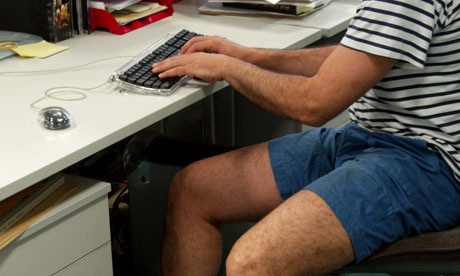 Shorts in office