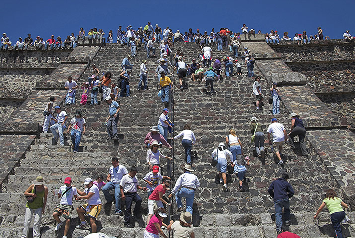 Places at risk: Teotihuacan
