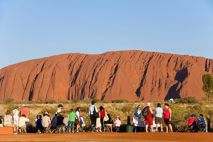 Places at risk: Ayers Rock