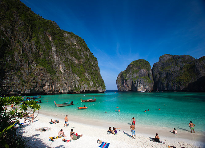 Places at risk: Phi Phi Islands, Thailand