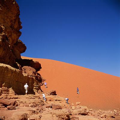 Places at risk: Wadi Rum, Jordan